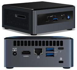 Leader Electronics Intel N13-I7 NUC, Intel i7-10710U, 8GB, 500GB SSD, Windows 10 Professional, 3 Year Onsite Warranty,