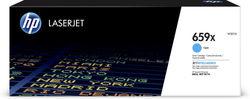 HP LaserJet 659X High Yield Cyan Original Toner Cartridge