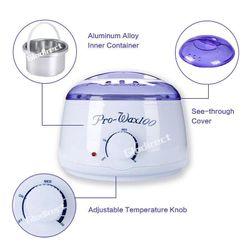 Wax Warmer Heater Pot Paraffin No Strip Facial Body Hair Removal Salon Beauty