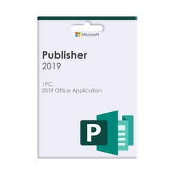 Microsoft Publisher 2019 Volume Licence 1 Licence No Level