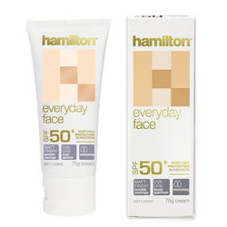 Hamilsun Every Day Face Cream SPF50+ 75Grams, Each