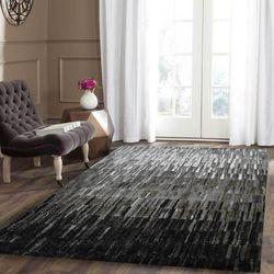 Chelsea Black Patterned Modern Rug