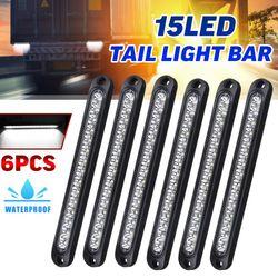 LED Stop Tail Light Tray Back Ultra-Slim Trailer Truck UTE Blinker Lights 10-30V