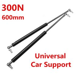 2X 300N Stainless Steel Universal Gas Struts Spring For Boot Bonnet Car Conversion Caravans Rebuilt Projects Doors Windows Hatches on Boat (600 mm)