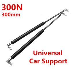 2X 300N Stainless Steel Universal Gas Struts Spring For Boot Bonnet Car Conversion Caravans Rebuilt Projects Doors Windows Hatches on Boat (300 mm)