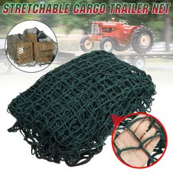 Heavy Duty Cargo Net Stretchable Trailer Net Tear-Resistant Trailer Safety Protective For Car SUV Truck 2x3m / 3x4m(A 300x400cm)