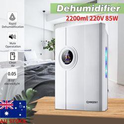 AU 2200ML Mini Dehumidifier Home Air Dryer Desiccant Moisture Absorption Mute