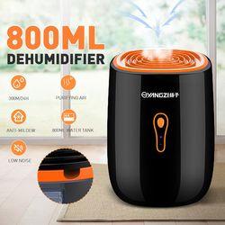 800ML 25W Low Noise Dehumidifier Mini Portable dryer Anti-Mildew Purification