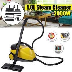1.8L High Pressure Car Steam Cleaner Lampblack Floor Carpet Home Steam Cleaning