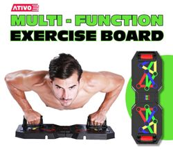Multi-Funtion Exercise Board Portable Foldable Full body workout Home Gym