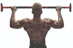 Power Pull Up Adjustable Door Frame Pull Up Bar Push Up Sit Up Strength Trainer