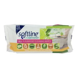 Softline Fresher Multi Purpose Cleaning Wipes 72