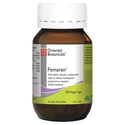 Oriental Botanicals Femaren 120 Tablets