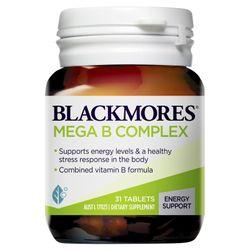 Blackmores Mega B Complex Tablets 31
