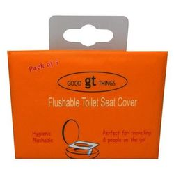 Good Things Flushable Toilet Seat Cover 5 Pack