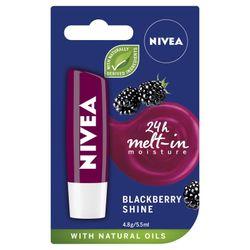 Nivea Lip Care Blackberry Shine Balm