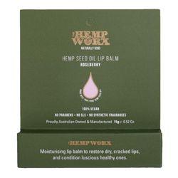 Hemp Worx Roseberry Hemp Seed Oil Lip Balm
