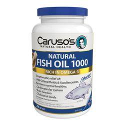 Caruso's Natural Health Natural Fish Oil 1000 Capsules 200