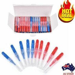 50Pcs Interdental Brush Floss Head Toothpick Tool Between Teeth Brushes