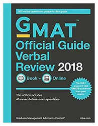 GMAT Official Guide 2018 Verbal Review Book Online