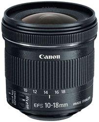 Canon EF-S 10-18 mm f 4 5-5 6 IS STM Lens (Black)