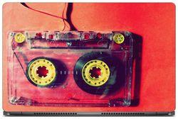 Gallery 83 - Love Music Cassette Laptop Decal laptop skin sticker 15 6 inch (15 x 10) Inch g83 skin 0607new