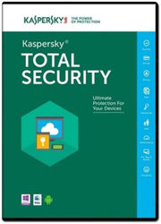 Kaspersky 1Pc 1Year Total Security 2017 New Slim Pack Free Plastic Cd Cover