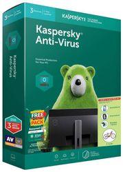 KASPERSKY Anti-virus 3PC 1 Year Version 18