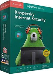 Kaspersky Internet Security 2016 (2 User 1 Year) 2 Installation Cds 2 Serial Keys