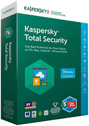 Kaspersky Total Security Multi Device - 5 Devices 1 Year (CD)
