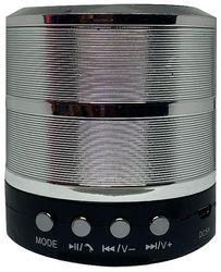 LaMat Music WS-887 Bluetooth Portable speaker ( Silver )