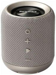 Portronics POR-821 SOUND DRUM Portronics por-821 sounddrum wireless bluetooth 4 2 stereo speaker with fm usb music (grey) Bluetooth Portable speaker ( Grey )