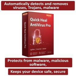 Quick Heal Anti Virus Pro ( 1 PC 1 yr )
