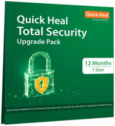 Quick Heal Total Security (1 User 1 Year) Upgrade Pack