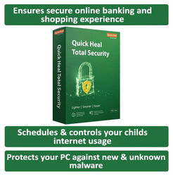 Quick Heal Total Security ( 3 PC 1 yr )