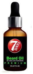7 Days Premium Beard Oil- Enriched With Rose Sandalwood Oil For Fast Beard Growth Hair Oil (30 ml)