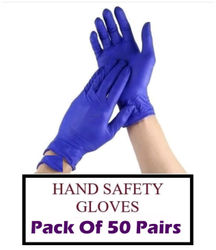Ace N King Itrile Non-Sterile Medical Surgical Gloves Pack of 50 Pair