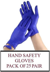 Ace N King Itrile Non-Sterile Medical Surgical Gloves Pack of 25 Pair