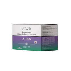 Aiwo A-RES Resveratrol - 500mg (100 Capsules)