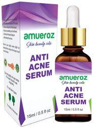 Amueroz Anti Acne Pimple removal Anti Blemish Acne prone White heads and Black heads Clears scar Dark Spots Skin Serum - 15 ml