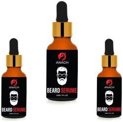 ANAGH PowerFull Beard Growth Oil Moustache Oil 30 ml each (Pack of 3)
