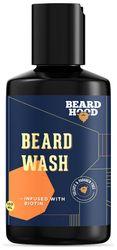 Beard Hood Beard Growth Wash With Biotin and Aprikot Kernel Oil Sulfate Paraben Free 100ml