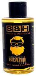 Beard oil 100 ml S H 100 natural and no chemical SLS parabeen free