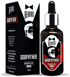 Beardo Godfather Lite Beard Mustache Oil - 30 ml