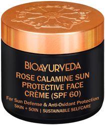 BIOAYURVEDA Rose Calamine Sun Protective Face Cream (Spf 60) 120g