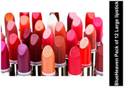 Blue Heaven Combo Of 12 Selected Colors Large Lipsticks