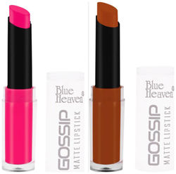 Blue Heaven Combo Of 2 Gossip Lipsticks