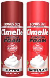 Cimelle Shaving Foam Regular Extra 400ml (Pack of 2)