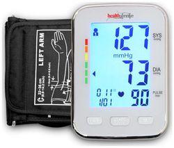 Healthgenie BP Monitor digital Upper arm BPM 04 KBL Automatic with irregular heart beat indicator