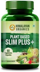 Himalayan Organics Plant Based Slim Plus with Garcinia Cambogia 1000mg Serve 60 Veg Capsules